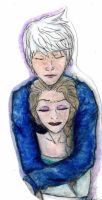 Jack and Elsa by letheanlove