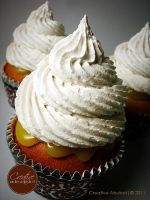 Lemon Meringue Faux Cupcake by CreativeAbubot