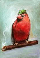 Ernesto, the commie bird by ggatz