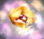 Sleepy fox by Torrentpelt