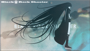 Black Rock Shooter loose hair II by TsukiNoKatana