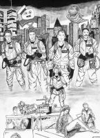 Ghostbusters by dgtrekker