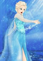 Elsa - Let it go! by MujiLN