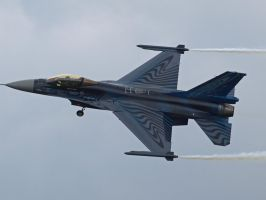 Belgian Air Component F16 by davepphotographer