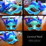 Carnival Mask by chart-the-sky