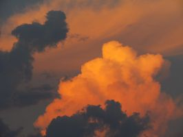 Beautiful clouds stock by DoloresMinette