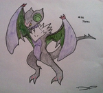 Noivern (Drawing) by Dianamond