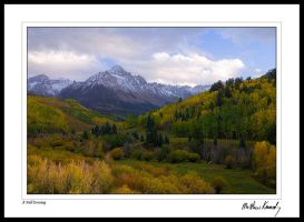 Sneffels Evening by kennedmh