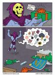 A Gift for Skeletor by StudioBueno