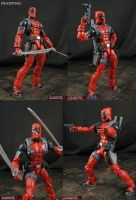 Custom Marvel Legends Deadpool VS figure by Jin-Saotome