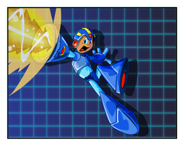 Mega Man by kudoze