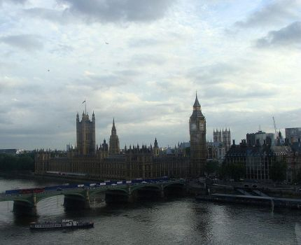 London: Parliament and Big Ben by xandreea