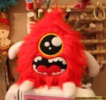 Red Droplet Cyclops by loveandasandwich