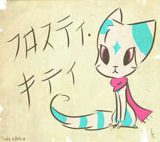 Japenese Scroll by Frosty-Kitteh