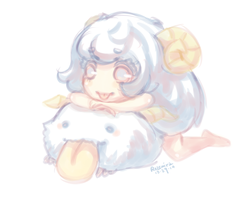 Request: Poro Girl by rozemira