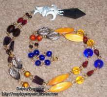WICKED LADY Cosplay necklace by CosplayPropsEtc