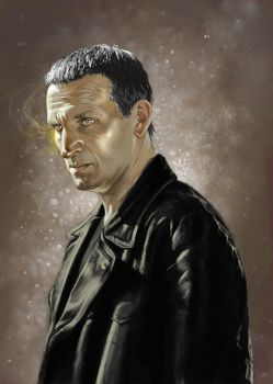 ninth Doctor by orookayasu