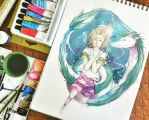 Spirited Away by Arphilles
