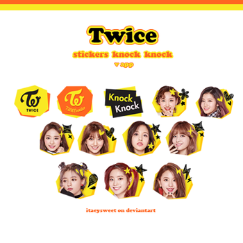 |TWICE STICKERS.#2| by fxrst-love