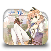 Atelier Escha and Logy Folder Icon by Minacsky-saya