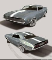 Muscle Car by bazze