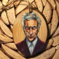 Capaldi in colored pencil by kahahuna