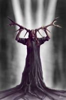 The Horned Godess by phoenixtattoos