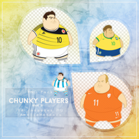 CHUNKY SOCCER PLAYERS (Parte 2)  PNG Pack #2 by LoveEm08