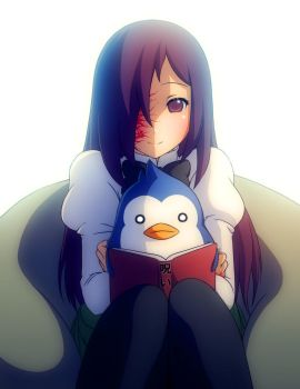 Commission: Hanako w/ a Penguin by Mikeinel