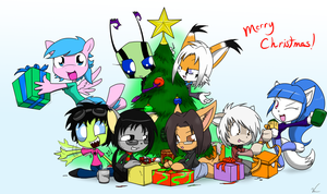MERRY CHRISTMAS EVERYONE!!! by Sandwich-Anomaly