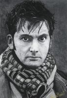 david tennant from doctor who by ricardo-bruins