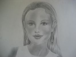 First Portrait by dragon77070