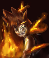 The Ifrit Boy by ReshiDaVanci