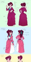 Dress Designs - 1880's by The-Ez