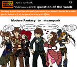 Web Comic Rock Question Of The Week #3 by AncientWonder