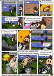 Matt Melvins Quote Adventure! Chapter 1, page 2 by RobmanCartoons