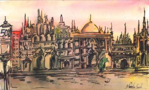 Imaginary Rome. by senacha-neeta