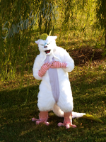 Haku Fursuit by SnowstormSpirit2285