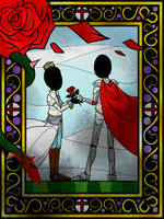 Ascension_A Legendary Stained Glass Window -dirty- by Chivi-chivik