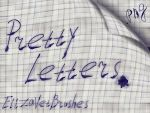 Pretty Letters .png Pack by ElizavetBrushes