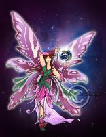 Commission: Mother Earth fairy by Aerindarkwater