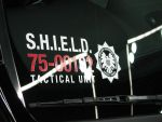 SHIELD car tactical number by Alebireo