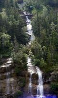 Mountain Forest waterfalls by DD7990