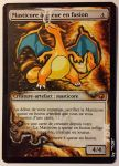 Molten-Tail Masticore, feat Charizard (Pokemon) by Toriy-Alters