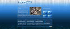 Stop Shark Finning Mock by datamouse