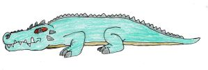 Giant Croc by trexking45