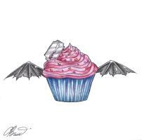 A cupcake for the devil by RayneColdkiss