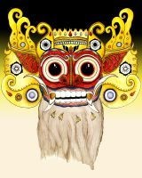Barong Spirit Bali Indonesian Mythology by Seabelly