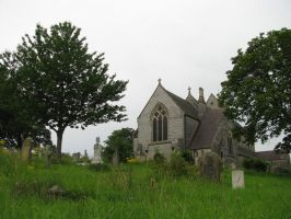 Places 447 church and graveyard by Dreamcatcher-stock
