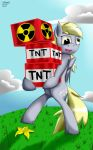 Now Be very careful Derpy!! by Unnop64